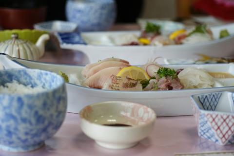 刺身定食2100円